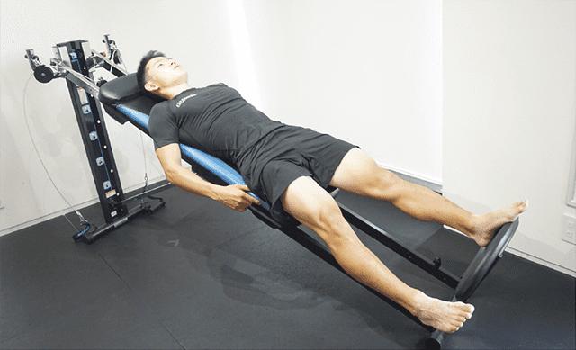 脚のトレーニング