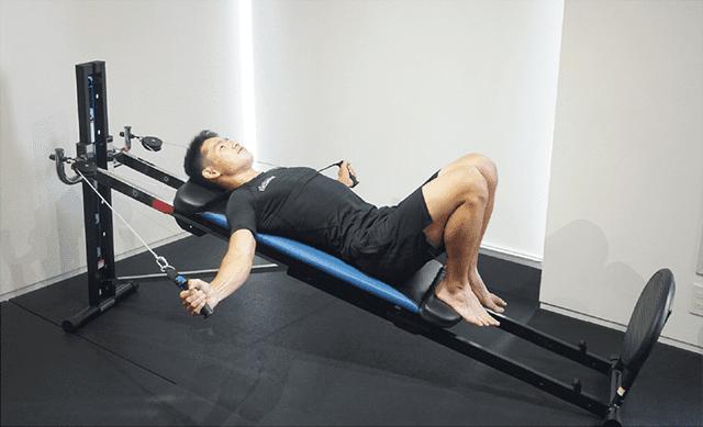 胸部のトレーニング