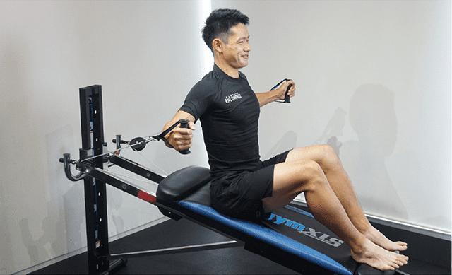 腹部のトレーニング